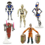 Star Tours Travel Agency Action Figure Set