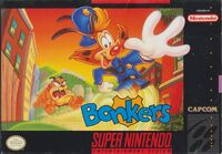 Bonkers SNES Cover