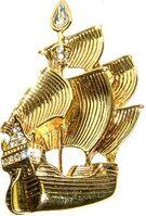 DS - Peter Pan (Captain Hook's Pirate Ship) Napier