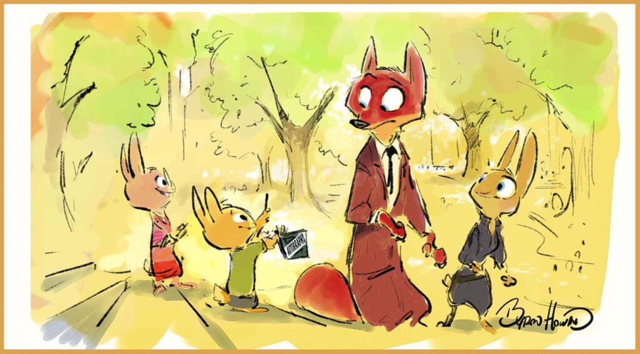 Image - Zootopia Nick with Bunny Kids concept.jpg | Disney Wiki ...