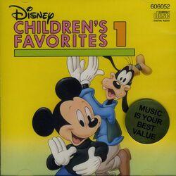 Disney children's favorite songs