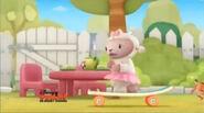 Lambie on the skateboard