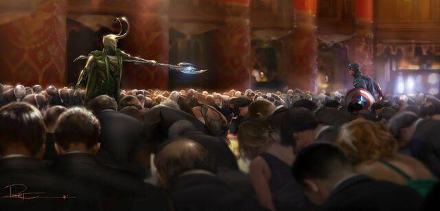 File:Cap vs Loki Concept Art.jpg