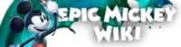 Epic Mickey Wiki-wordmark