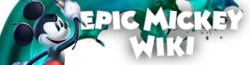 File:Epic Mickey Wiki-wordmark.png