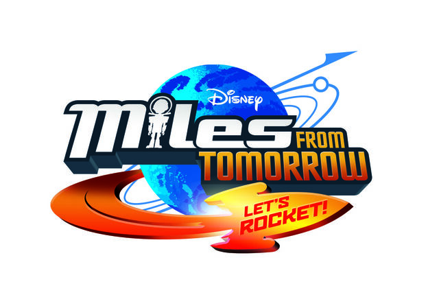 File:Miles from Tomorrow - Let's Rocket logo.jpg