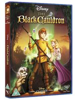 The Black Cauldron UK DVD 2014