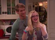Josh and Maddie in the Kitchen