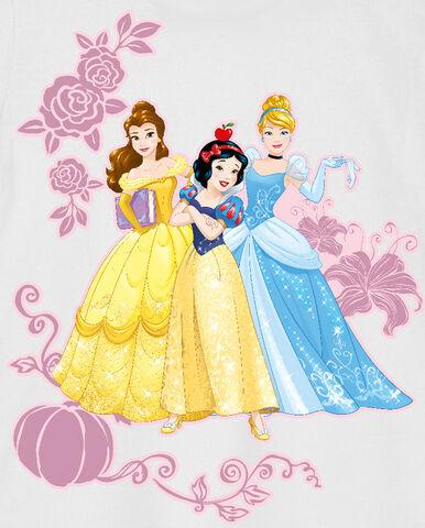 File:Snow White, Cinderella and Belle.jpg
