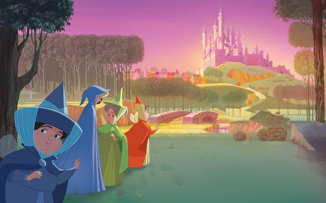 File:Disney Princess Aurora's Story Illustraition 9.jpg