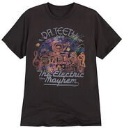 Junk food disney store 2011 dr teeth and the electric mayhem shirt