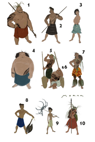 File:Moana's brothers and Moana.png
