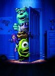 Textless Monsters Inc Poster