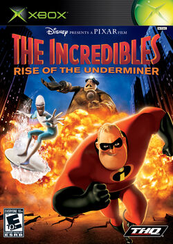 The Incredibles-Rise of the Underminer