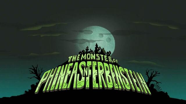 File:Monster of Phineas-n-Ferbenstein title card.jpg