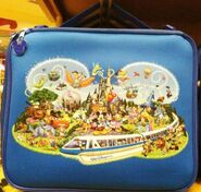Storybook Character Pin Trading Bag