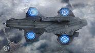 Concept Art - Captain America TWS - Helicarrier