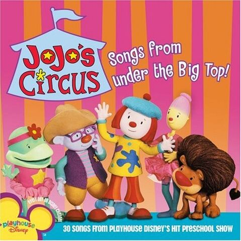 File:JoJo's Circus Songs from Under the Big Top.jpg