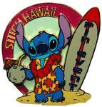 Stich Hawaii surf pin