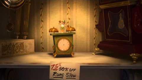 Walt Disney Animation Studios Short Films Collection Tick Tock Tale
