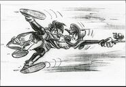 Disney's A Goofy Movie - Storyboard by Andy Gaskill - 21