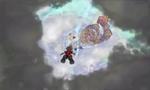 Sora Falling to La Cité des Cloches KH3D
