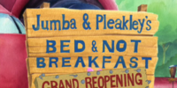 Jumba & Pleakley's Bed & Not Breakfast