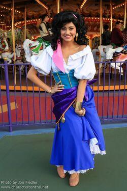Esmerelda Tokyo Disney Character Central