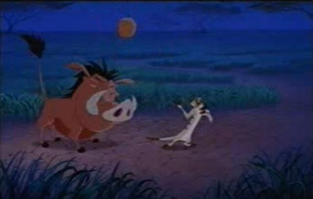 File:Pumbaa getting clonked by a coconut.JPG
