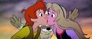Taran Eilonwy kiss