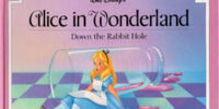 Walt Disney's Alice in Wonderland: Down the Rabbit Hole (A Lift-the-Flap Rebus Book)
