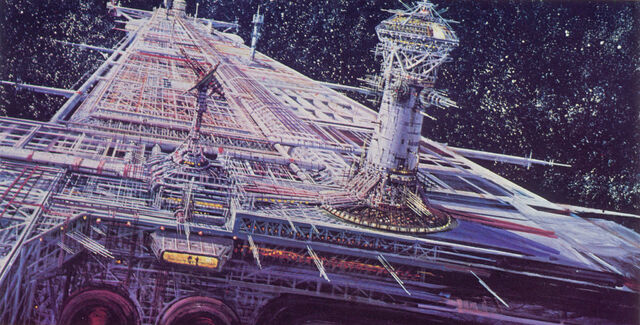 File:U S S Cygnus Concept Art by Peter Ellenshaw 03.jpg