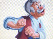 Geppetto as The Priest