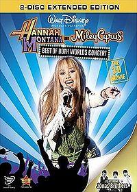 Hannah 3D DVD