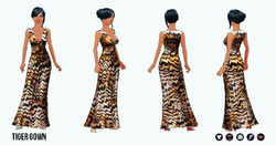 Pet - Tiger Gown