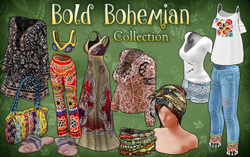 Bold Bohemian Collection