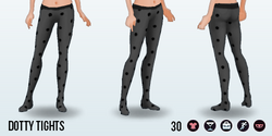 EdieO - Dotty Tights