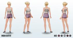 GirlNextDoorSpin - Indio Outfit