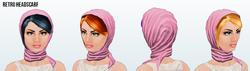 SilverScreen - Retro Headscarf