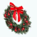 ChristmasDecor - Holiday Wreath