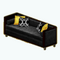 ModerneNoirDecor - Moderne Noir Sofa