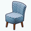 FashionBloggerSpin - Chevron Chair