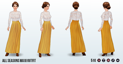 FallBohemian - All Seasons Maxi Outfit