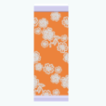 CafeRaffle - Orange Floral Wallpaper