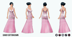 PrettyInPastel - Cotton Candy Gown