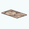 CafeRaffle - Brown Country Rug