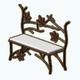 CanadaDay - Maple Leaf Bench