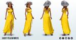 FridayThe13th - Lucky Yellow Dress