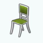 CelebrateGreenerySpreeSpin - Greenery Dining Chair