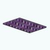 CafeRaffle - Multi Purple Chevron Rug